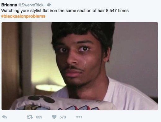 30d4ab2e38789f8f49122ad26c7f21dc funny (yet true!) black hair salon problem tweets and memes