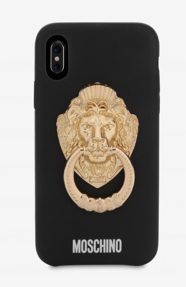 iphone x cover moschino