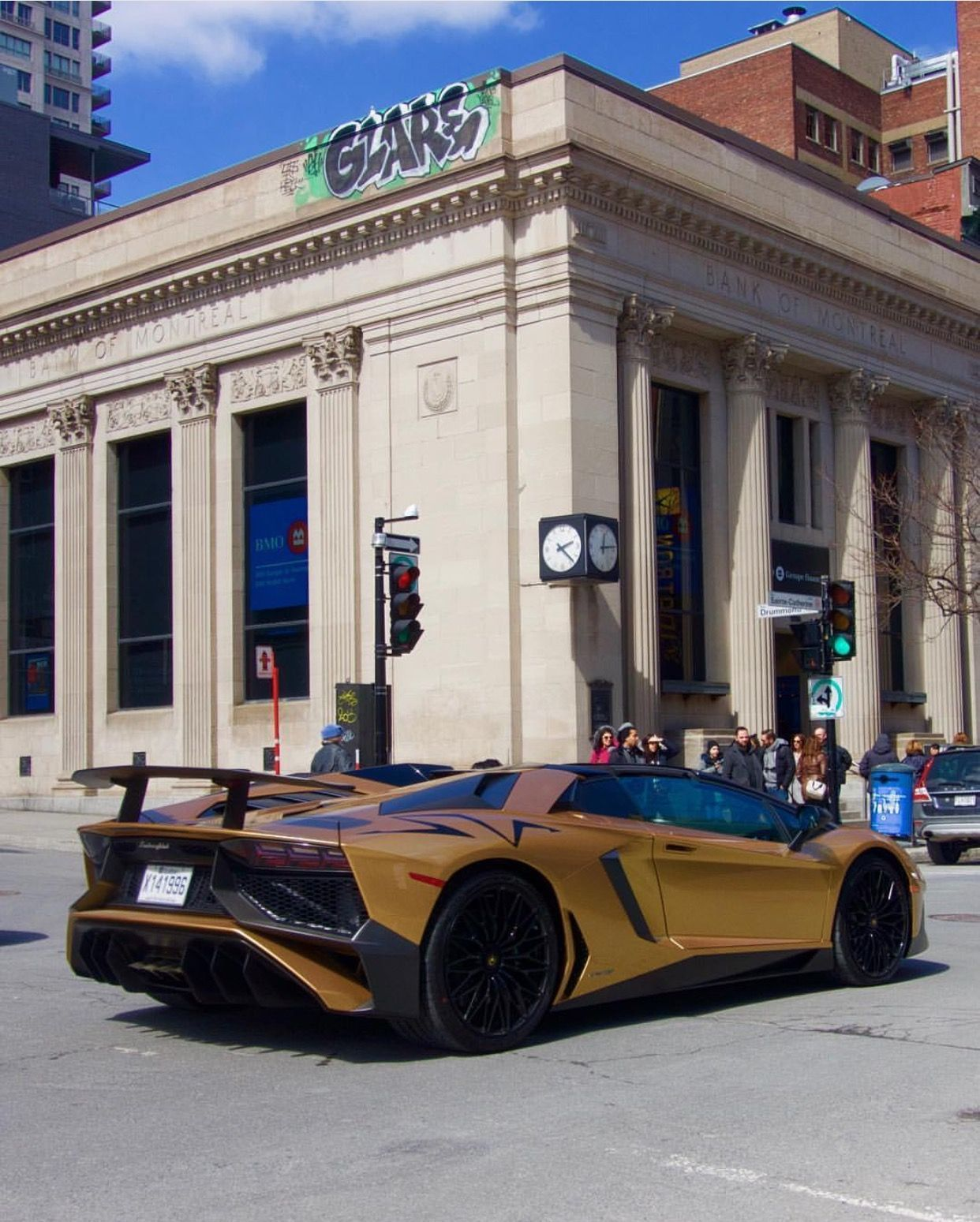 Lamborghini Aventador Super Veloce Roadster Painted In Oro Elios Photo  Taken By: @tg3m_photography On