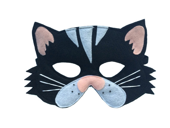 This BLACK CAT Mask Is Designed For Everyday Fun Great Dress Up And Pretend Play Ideal Gift Perfect Themed Birthday Parties Party Favor