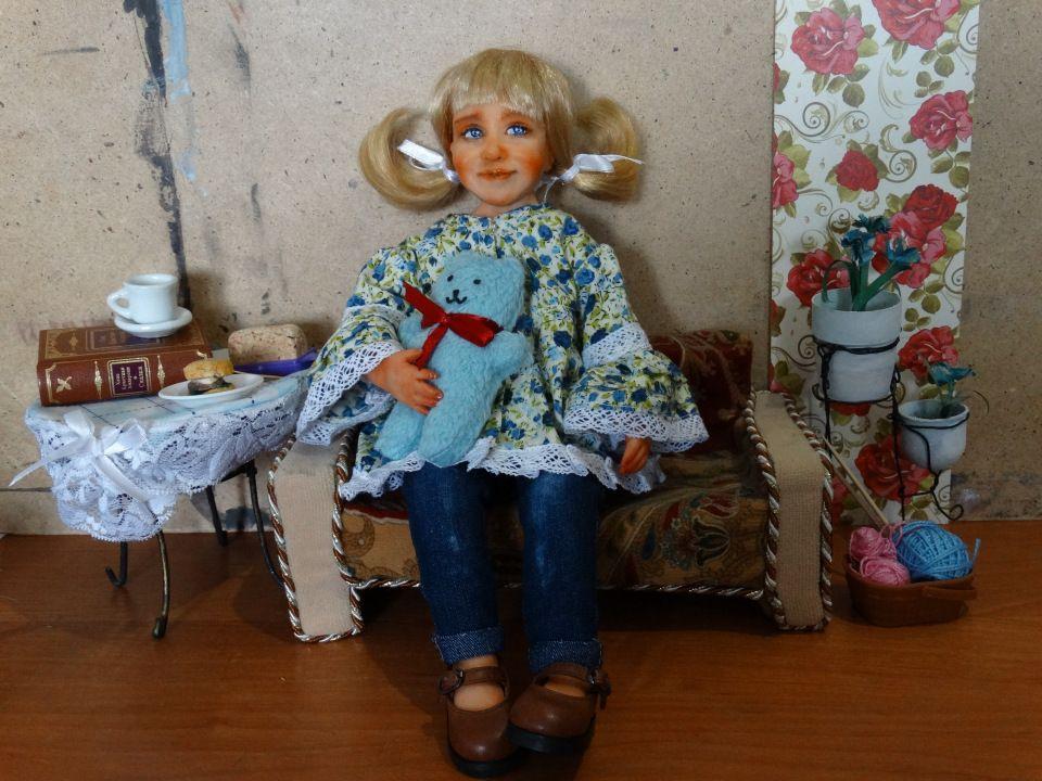Кукла за один день своими руками