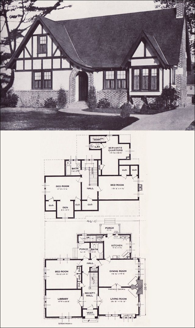 Authentic tudor house plans house plans for Tudor house plans with photos