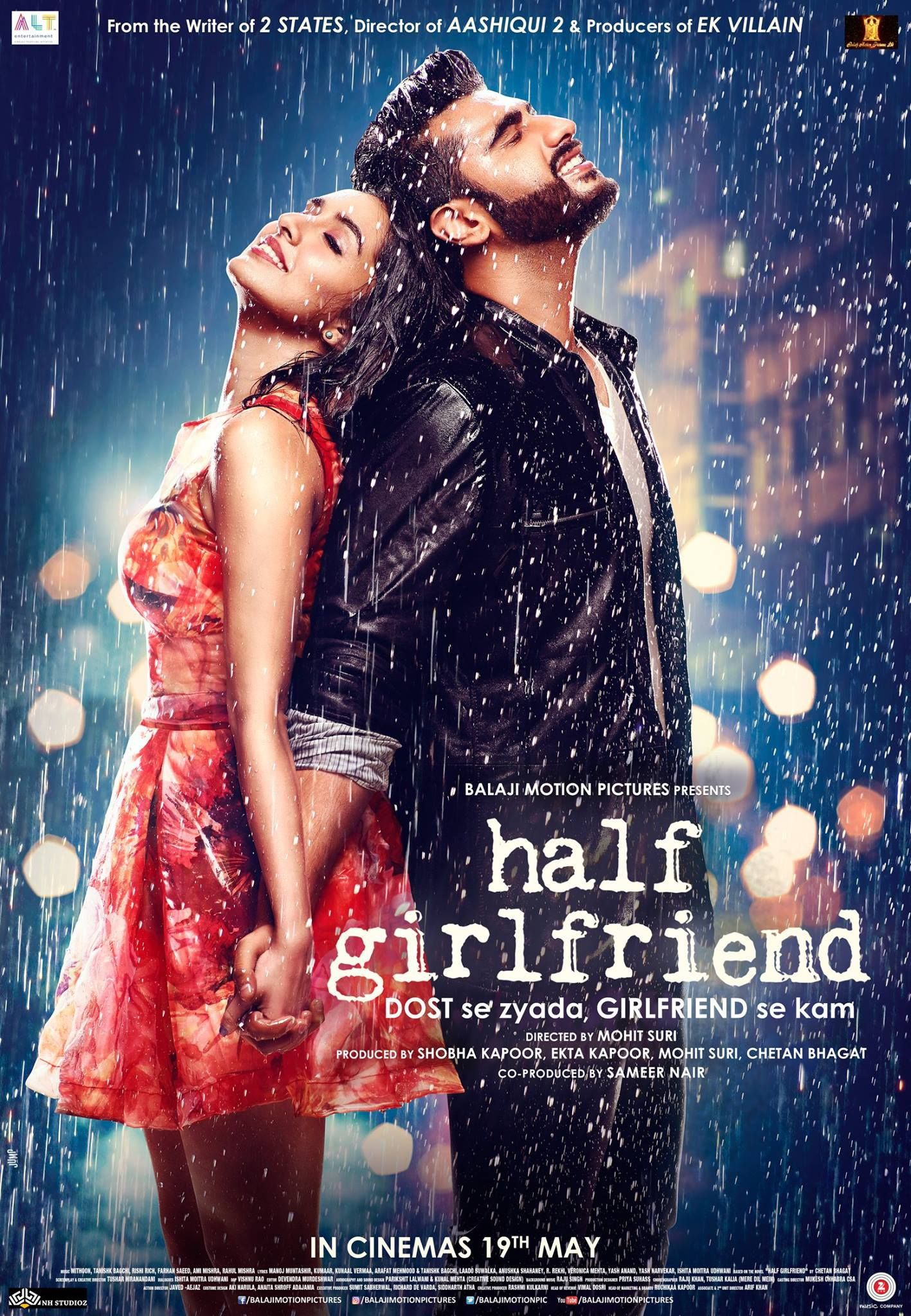 Half Girlfriend Chetanbhagat Book Was So So For Chetanbhagat Standards Will Bollywood Compensate For The Shortcomings Of Th Half Girlfriend Movie Hindi Movies Online Free Half Girlfriend Full Movie
