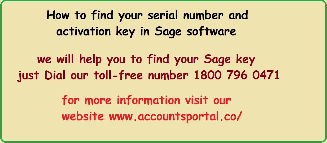 sage line 50 serial number and activation key