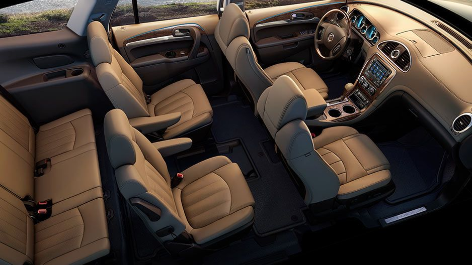 See The Three Generous Rows Of Seating And Storage Available In Enclave Tuscan Edition