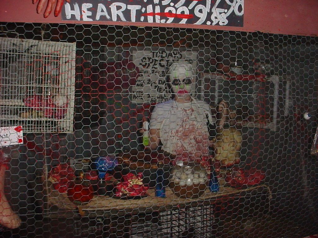 Our 2010 haunted house with ideas from haunted houses for Halloween haunted room ideas