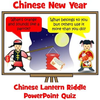 Chinese New Year Lantern Riddles Quiz Riddles, Tough
