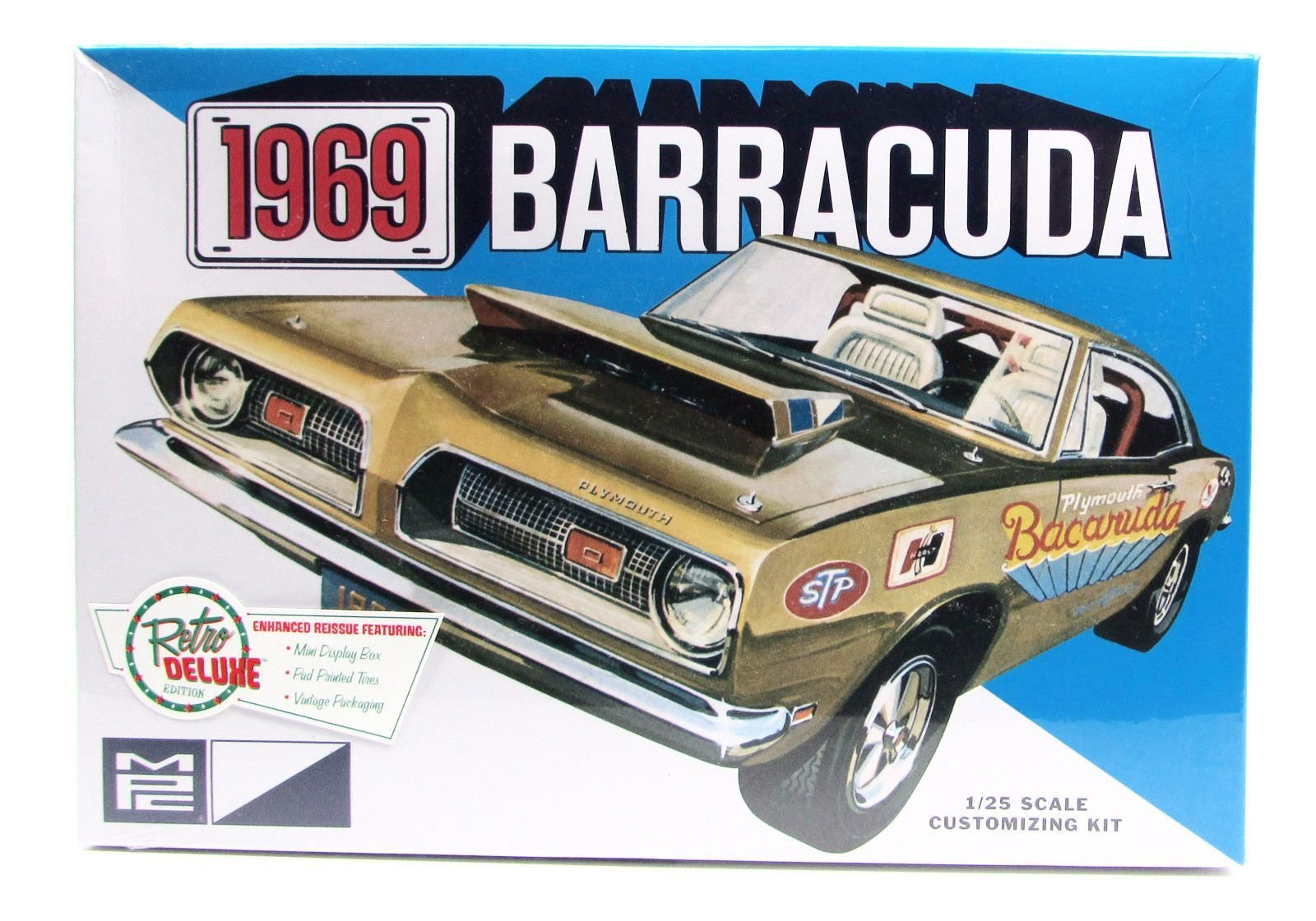 1969 Barracuda Mpc 832 1 25 Plymouth New Car Model Kit Model Cars Kits Car Model Model Kit