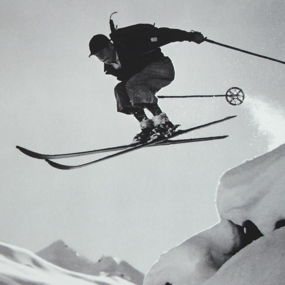 Pin By Estefani Candiotti On Hightravel Vintage Ski Alpine Skiing Ski Art