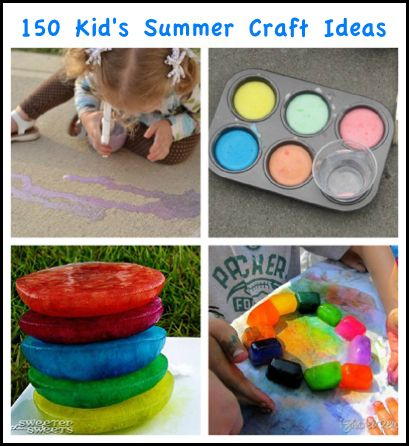 150 Creative Summer Crafts For Kids Homestead And