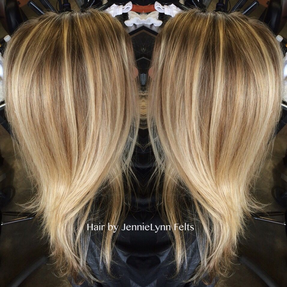 Dimensional Color With A Full Foil Highlight With Images Hair