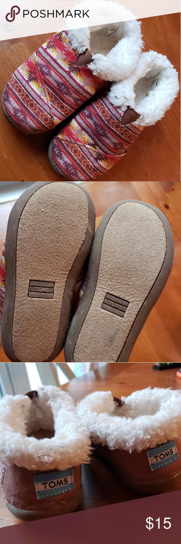 Toms (8T - runs small) | Shoe print