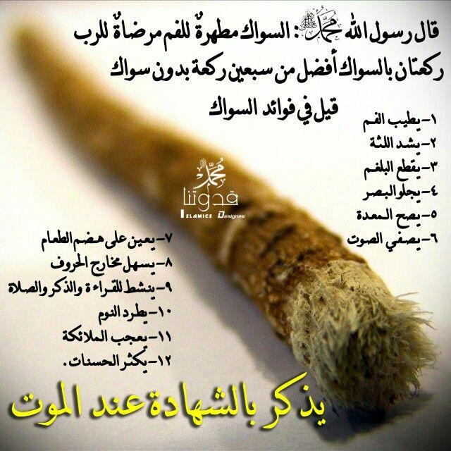 من فوائد السواك Islamic Phrases Quran Quotes Quotes