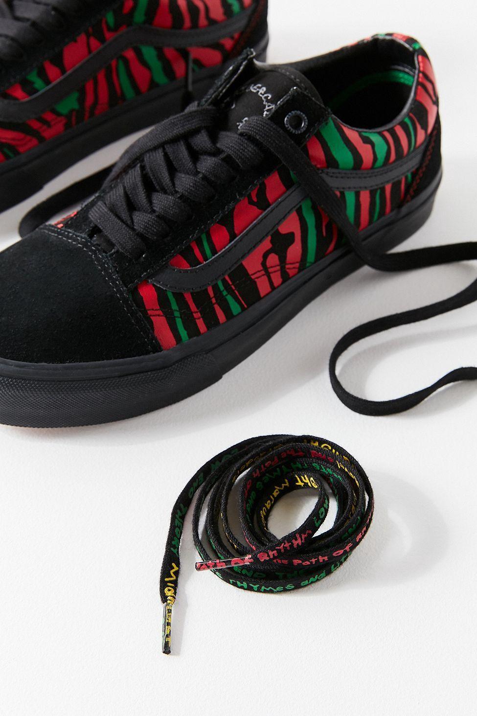 Vans X A Tribe Called Quest Old Skool Shoes | Black | Vans