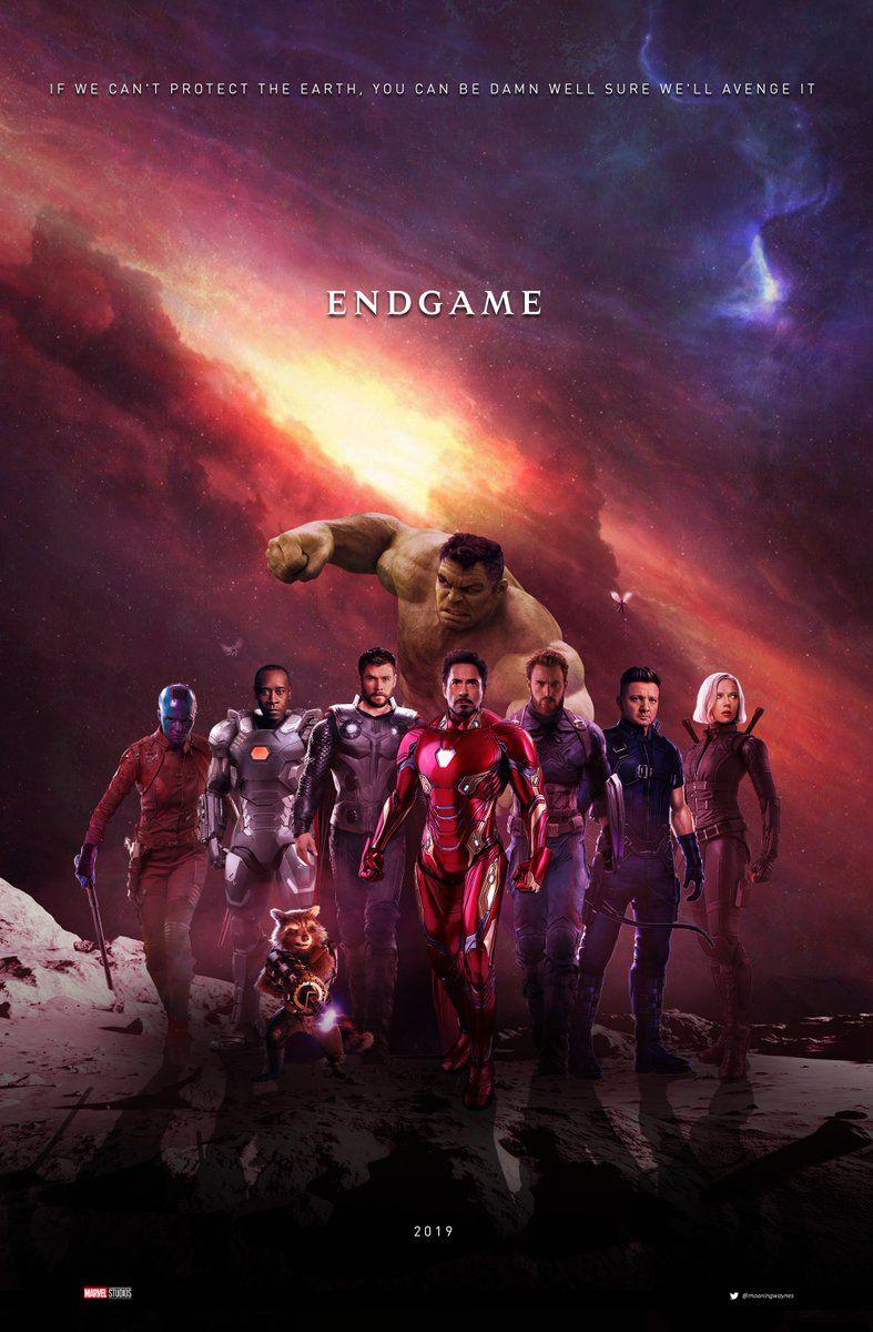 Endgame Fan Made Poster Avengers4 Anything Everything Marvel