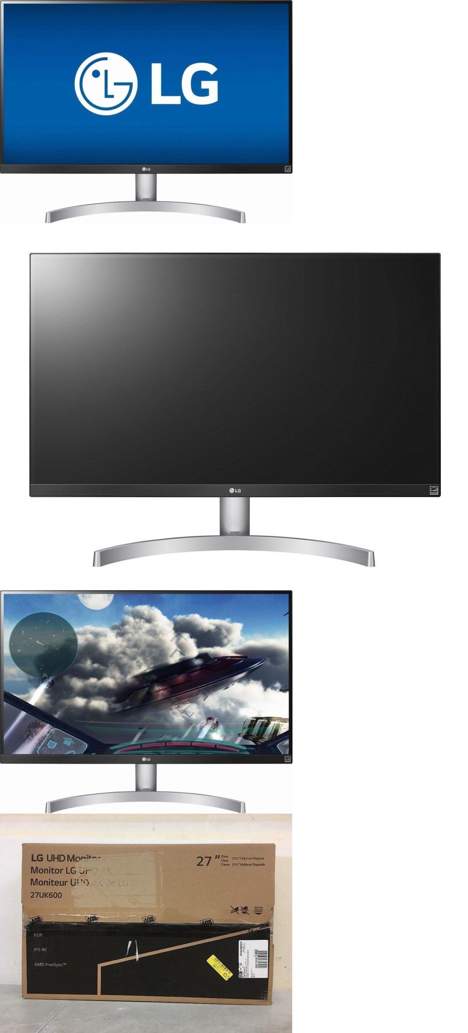 Monitors Projectors and Accs 162497: Lg 27Uk600-W 27 Hdr Ips Led 4K