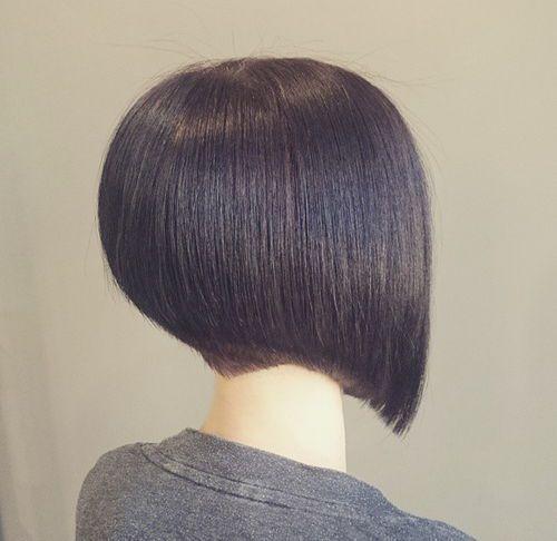40 Chic Angled Bob Haircuts Bob Frisur Frisur Dicke Haare