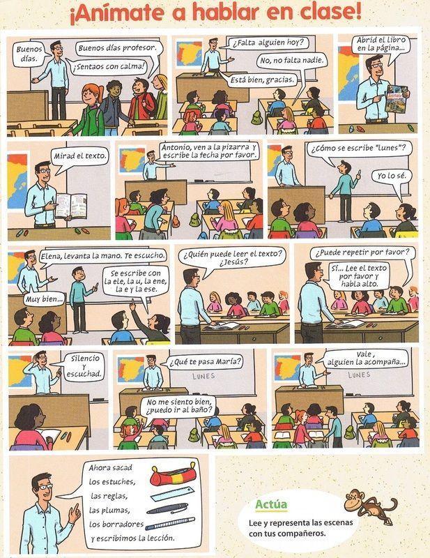 Fabulous Reglas en clase y frases para comunicar en clase (ficha) | Vuelta  JB15