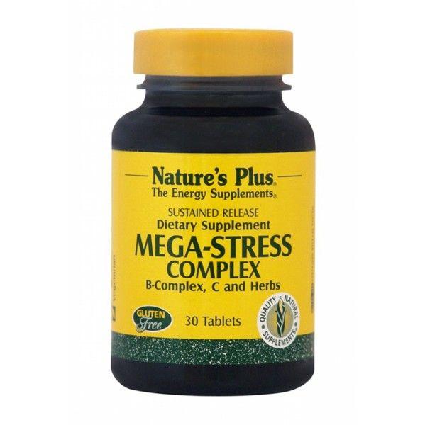 βοηθαει και στην καταπολέμηση του άγχους και στον ξεκούραστο ύπνο...όρμουλα για την καταπολέμηση του άγχους και της νευρικής υπερδιέγερσης, σε πολύ οικονομική τιμή! Η φόρμουλα NATURE'S PLUS MEGA-STRESS COMPLEX S/R TABLETS 30 για την καταπολέμηση του άγχους είναι ένα προηγμένο συμπλήρωμα διατροφής …
