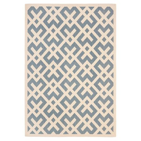 You Should See This Macaria Blue Amp Bone Rug On Daily Sales