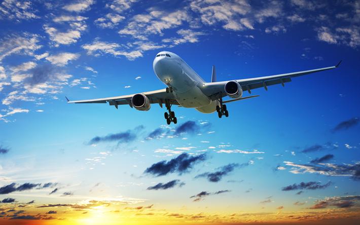 Descargar Fondos De Pantalla Avion De Pasajeros Avion Avion En