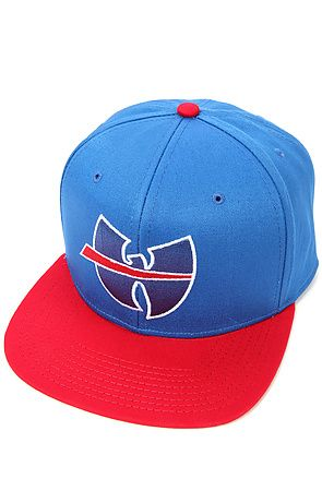 31454582058a8 The Wu Buffalo Hat in Blue and Red by Wutang Brand Limited