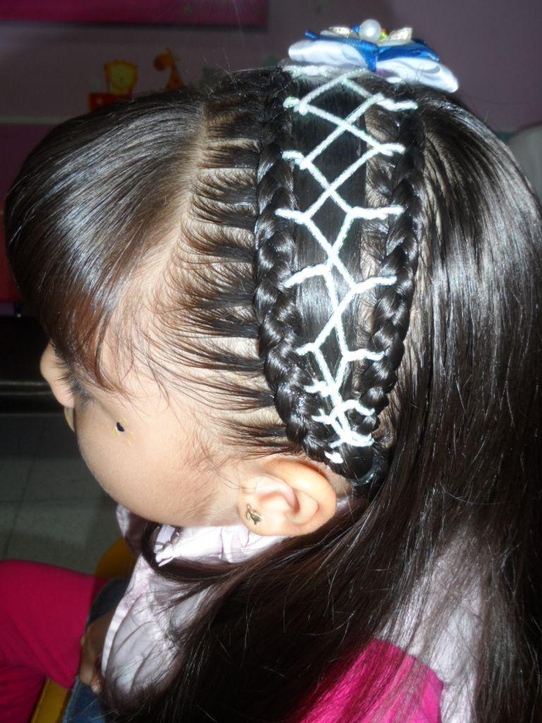 trenzas peinados nias peinados infantiles peluquera infantil