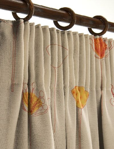 Deep Pencil Pleats Pencil Pleat Curtains Sheer Roman Blinds