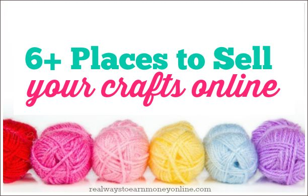 6 places to start selling crafts online craft online and for Things to make to sell online
