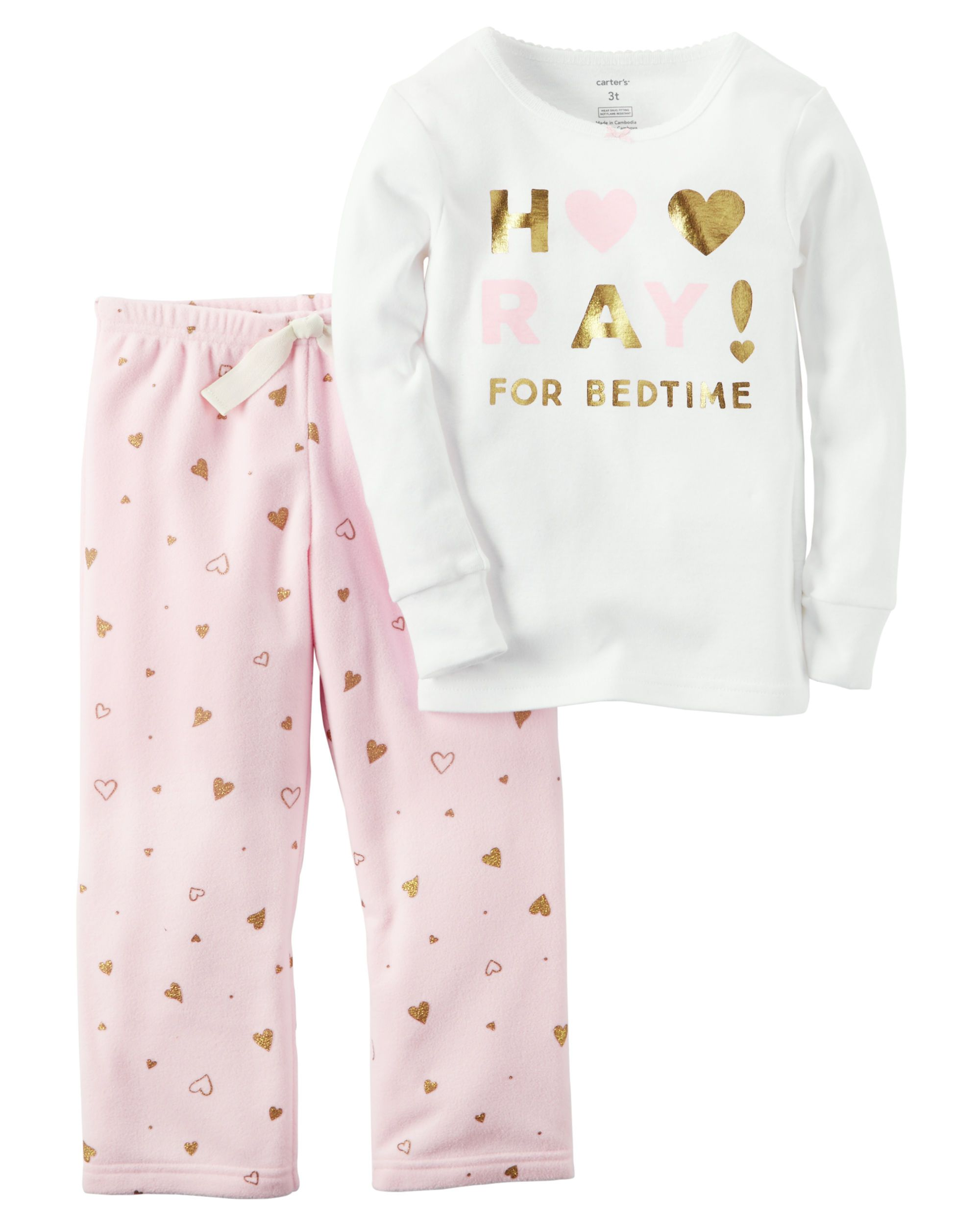Fleece Pajamas Girls Breeze Clothing