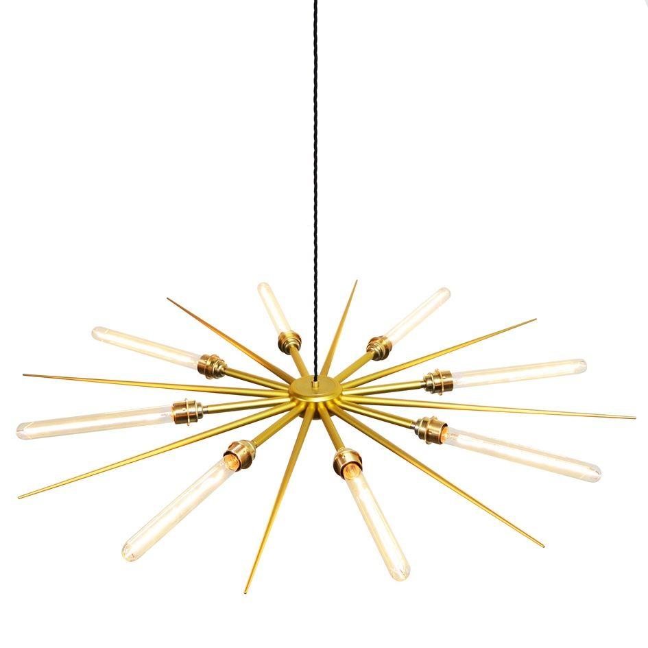 vega 16 8 light pendant by charles lethaby lighting ecc new