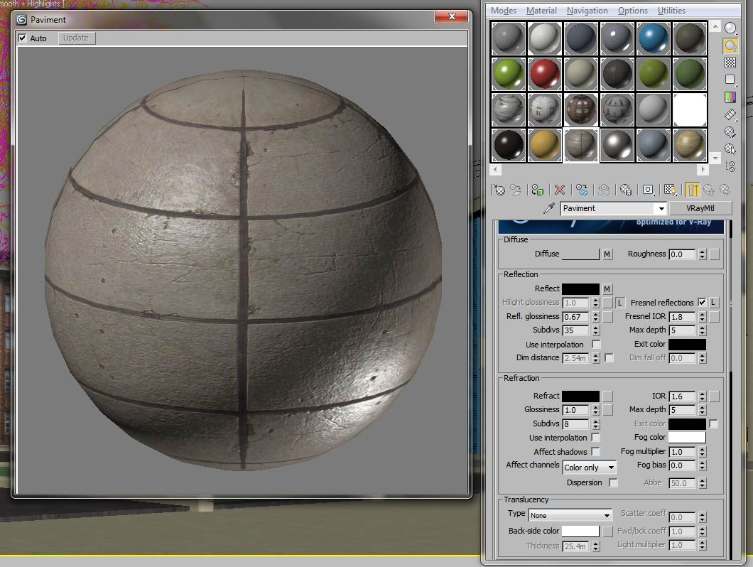 Vray Pavement Material 1060 798 Tutorial Pinterest 3ds Max
