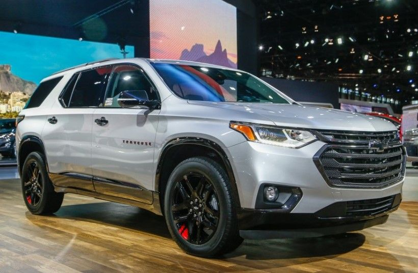 2020 Chevy Traverse Official Preview In Auto Show Carros Casas De Luxo Luxo