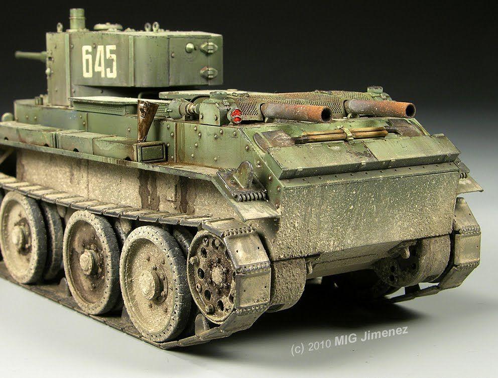 BT-7 1/35 Scale Model