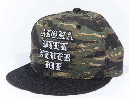 b2517849ebdff Old Aloha Snapback Cap by RUTHLESS KIDS