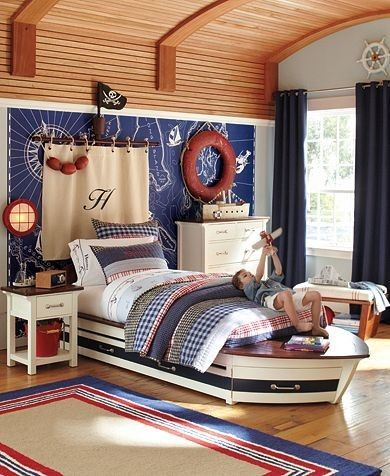 Kids Room Ceiling Ideas Nautical Bedroom Boys Nautical