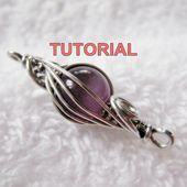 Photo of WIRE JEWELRY Tutorial – Caged Herringbone Woven Bead mit KOSTENLOSEN Two Tone Herringb …