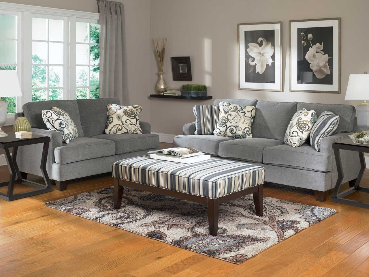 Living Room Design With Grey Sofa Fascinating Take A Look In The Following Living Rooms With Gray Elements Review