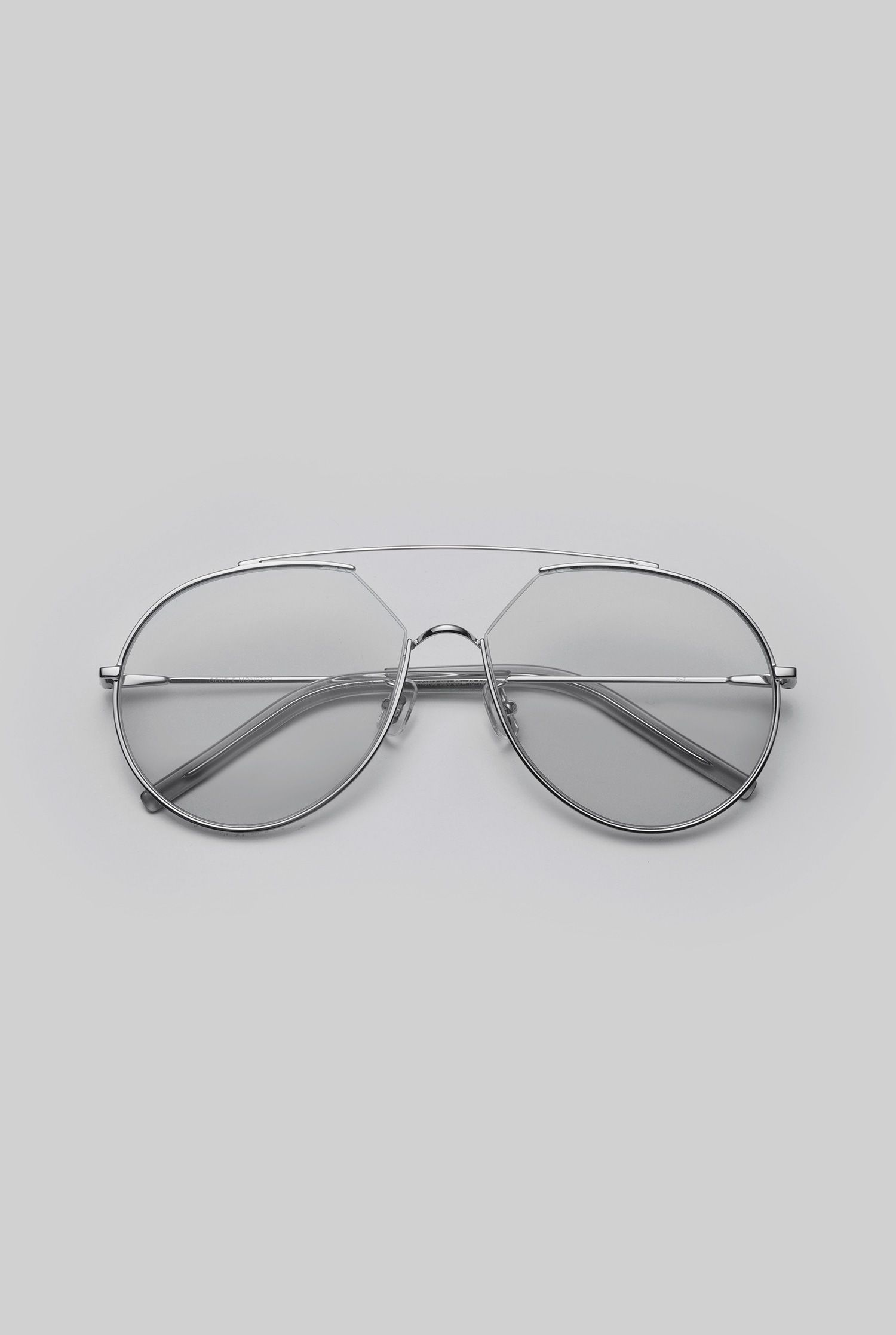 421307f14b3e GENTLE MONSTER 2018 Sunglasses Z-1 02(G) Stainless steel front and  Stainless steel temples in silver
