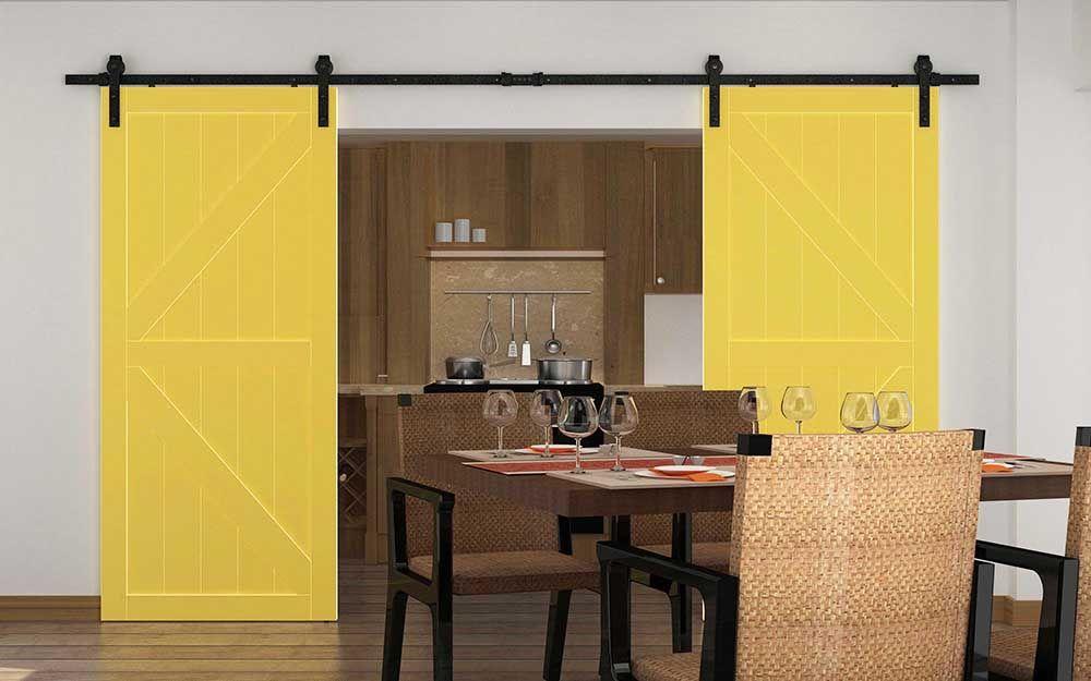 DIYHD 13ft Gaufrage Concave-convexe Noir Plié Droite Double