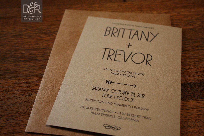 Free Printable Rustic Wedding Invitation Templates: Free Printable Rustic Wedding Invitations At Websimilar.org
