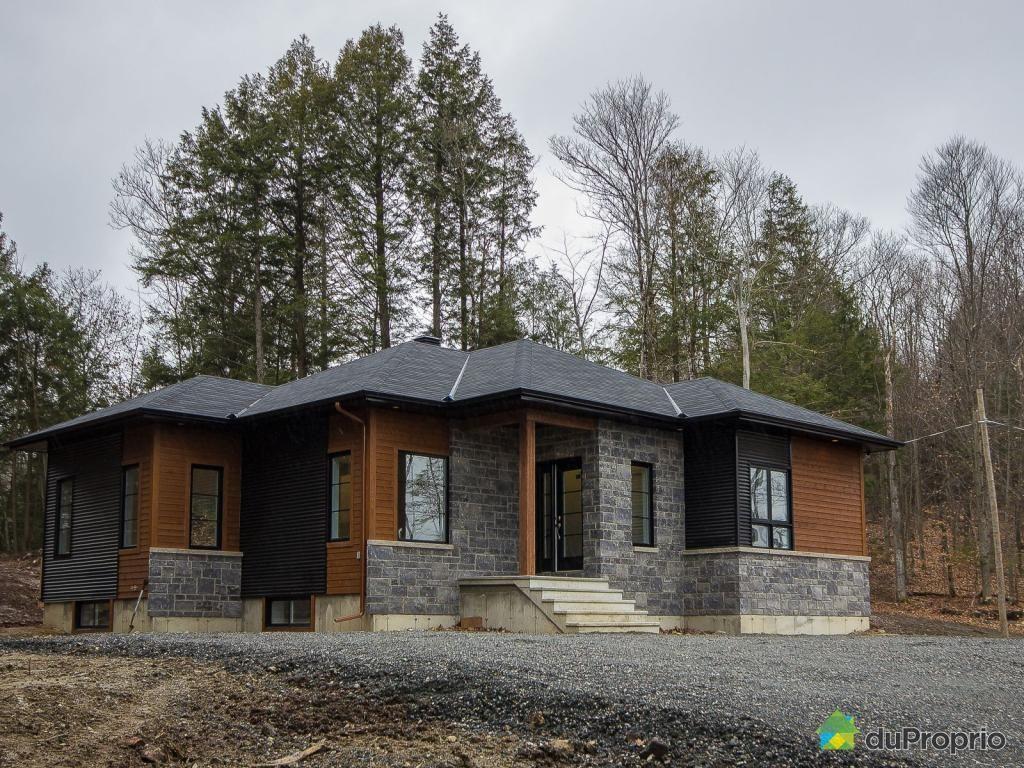 Maison Neuve à Vendre Val Des Monts 42 Chemin Du Panorama Immobilier Québec Duproprio 642690 House Styles Home House