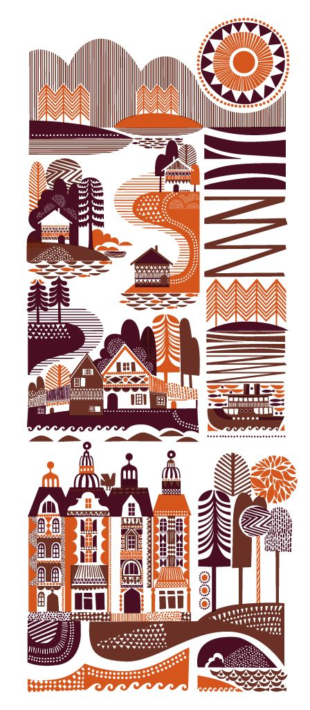 Sanna Annukka 'The Shamans Tepee', 'Archipelago' + 'Spirits Of The North' PrintsAvailable - PostersAndPrintsBlog - postersandprints.squarespace.com