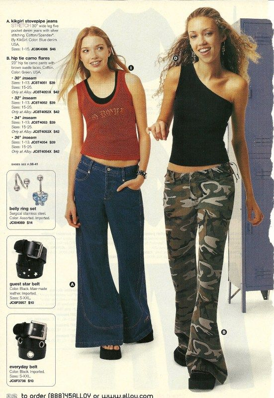 Flashback: Alloy | 1990s | Early 2000s fashion, 2000s ...