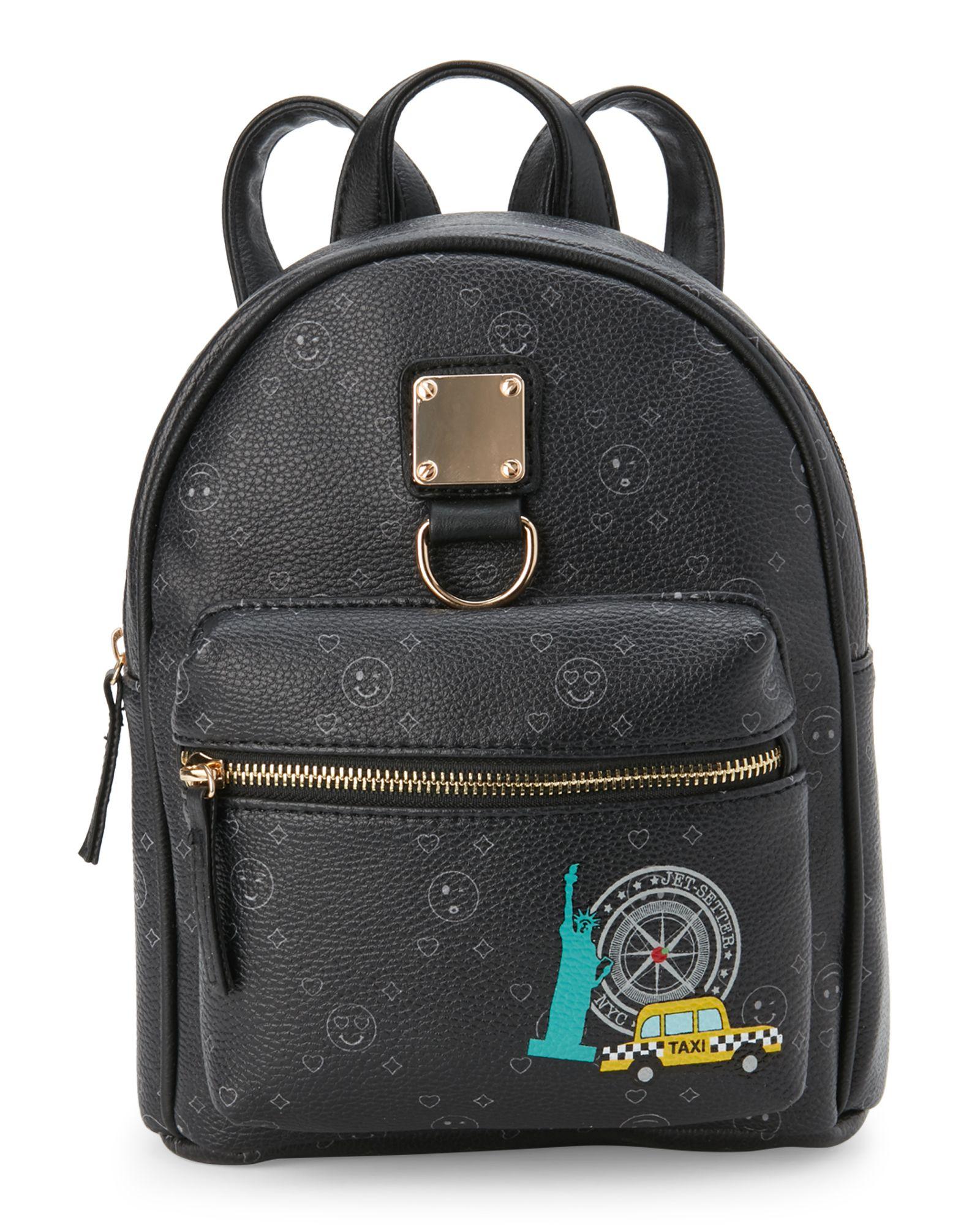 0c2094f3c Mini Backpack Purse Black- Fenix Toulouse Handball