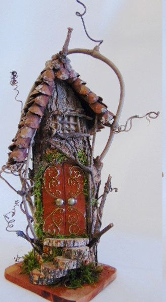 fairy house fairy garden house gnome house by popemtncreations - Gnome House S Design