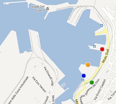 Port Map Ancona Trieste Patras Igoumenitsa Minoan Lines - Map of ancona italy