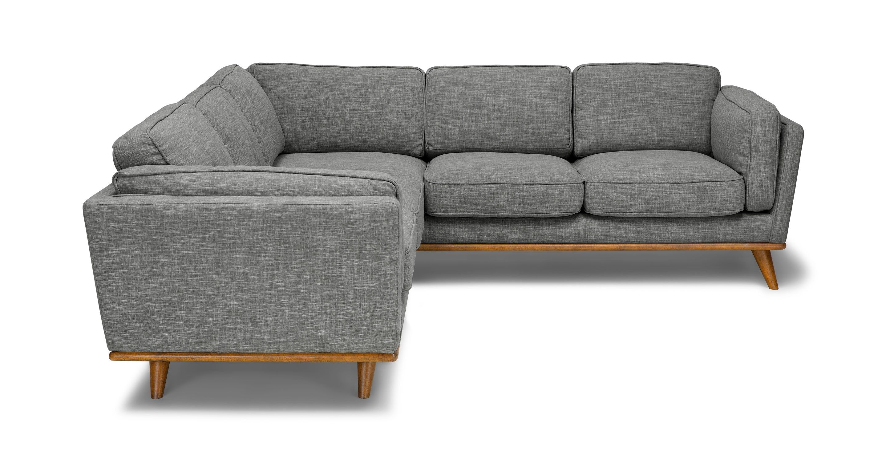 Timber Pebble Gray Corner Sectional   Sectionals   Article | Modern,  Mid Century And Scandinavian Furniture