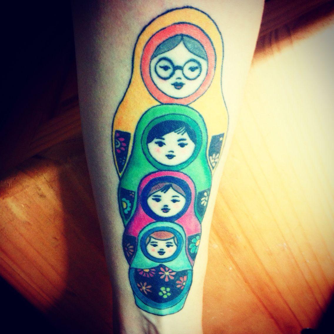 Matrioskas tatto