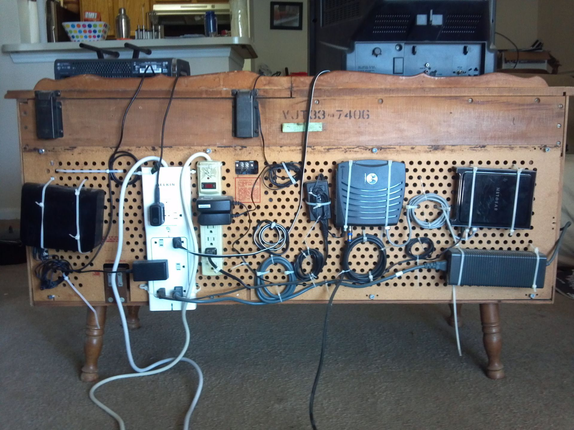 Hacker Challenge Winner: The Pegboard Cable Organizer | Submission ...